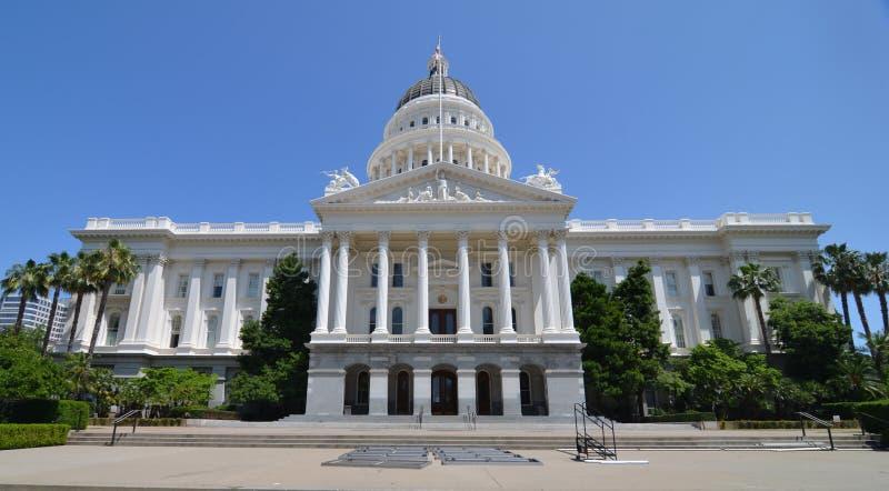 Κτήριο του Σακραμέντο Capitol, Καλιφόρνια στοκ φωτογραφία με δικαίωμα ελεύθερης χρήσης