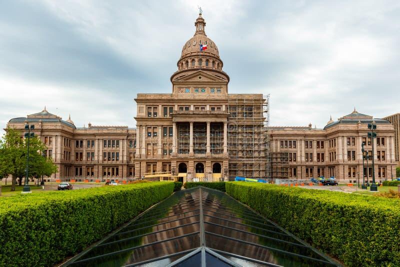 Κτήριο του Τέξας Capitol στοκ εικόνες με δικαίωμα ελεύθερης χρήσης
