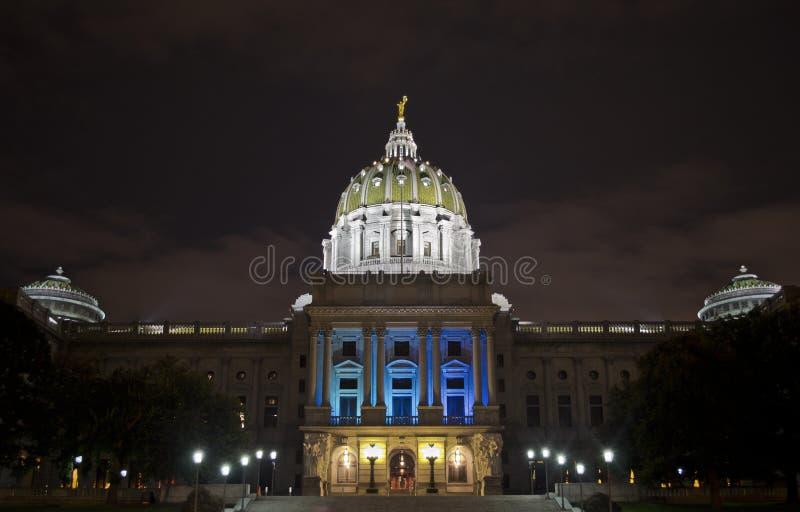 Κτήριο του Χάρισμπουργκ Capitol στοκ φωτογραφίες