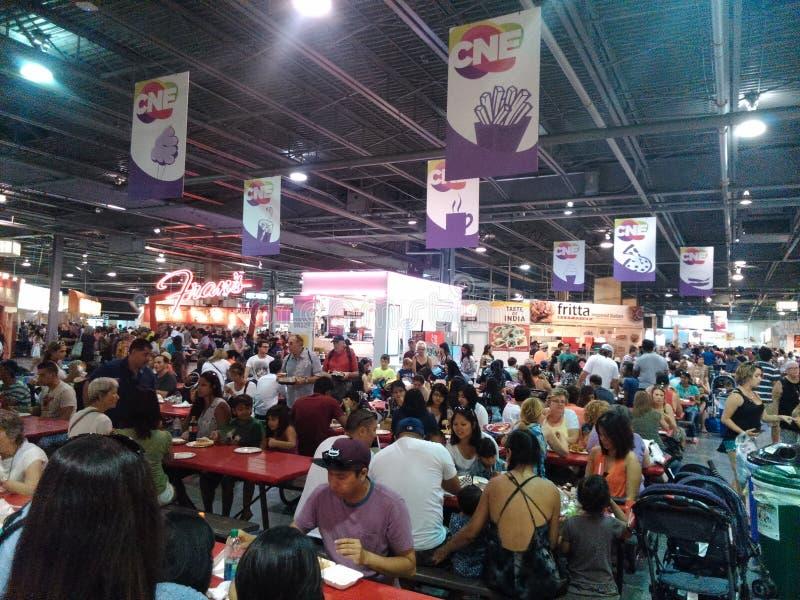 Κτήριο τροφίμων CNE στοκ φωτογραφία με δικαίωμα ελεύθερης χρήσης