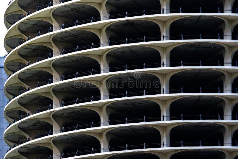 Κτήριο χώρων στάθμευσης στοκ φωτογραφία