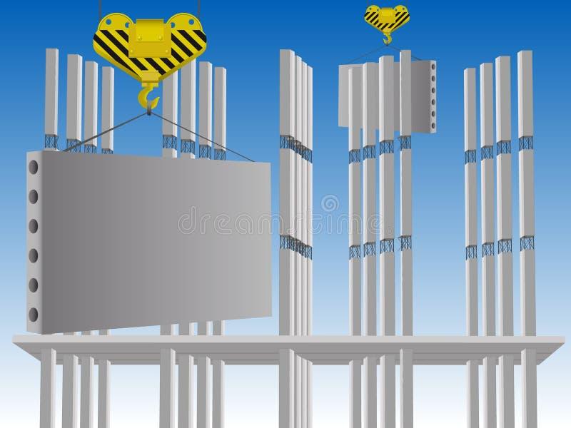 κτήριο διανυσματική απεικόνιση