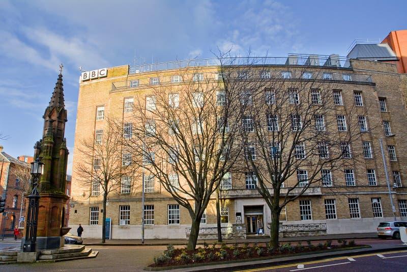 Κτήριο BBC στο Μπέλφαστ στοκ φωτογραφίες με δικαίωμα ελεύθερης χρήσης