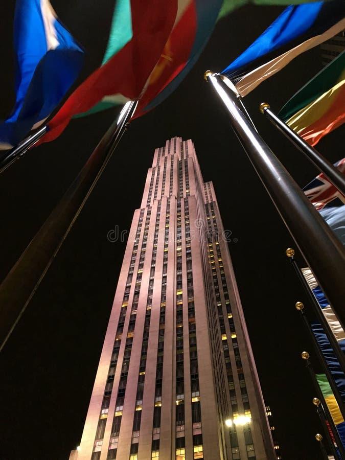 Κτήριο Comcast στο κέντρο Rockefeller στοκ φωτογραφίες