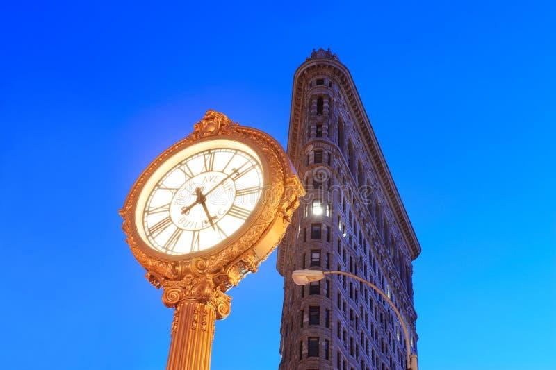 Κτήριο Flatiron πόλεων της Νέας Υόρκης στοκ εικόνα με δικαίωμα ελεύθερης χρήσης