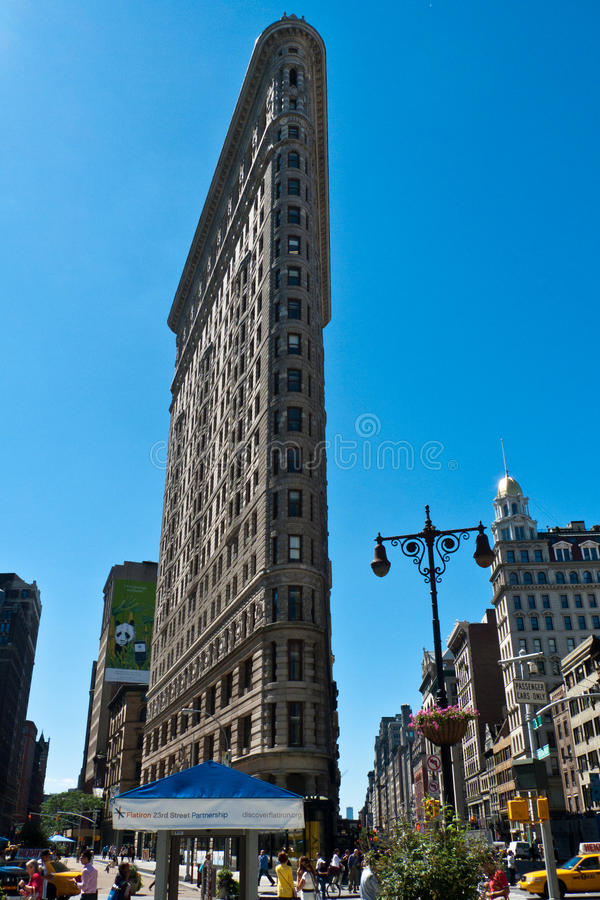 Κτήριο Flatiron, πόλη της Νέας Υόρκης στοκ εικόνες