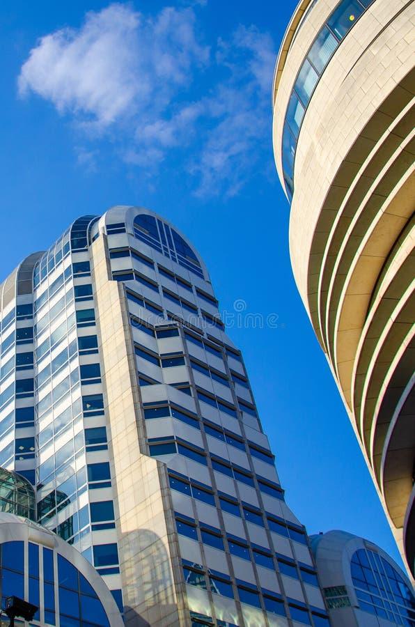 Κτίρια γραφείων του Λονδίνου - χρώμα στοκ φωτογραφία με δικαίωμα ελεύθερης χρήσης
