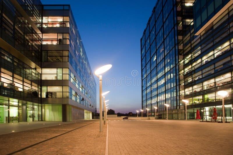 Κτίριο γραφείων στοκ εικόνες