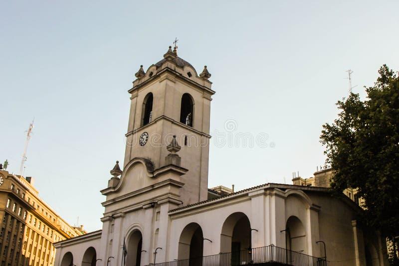 Κτίριο Cabildo στο Μπουένος Άιρες στοκ φωτογραφία με δικαίωμα ελεύθερης χρήσης