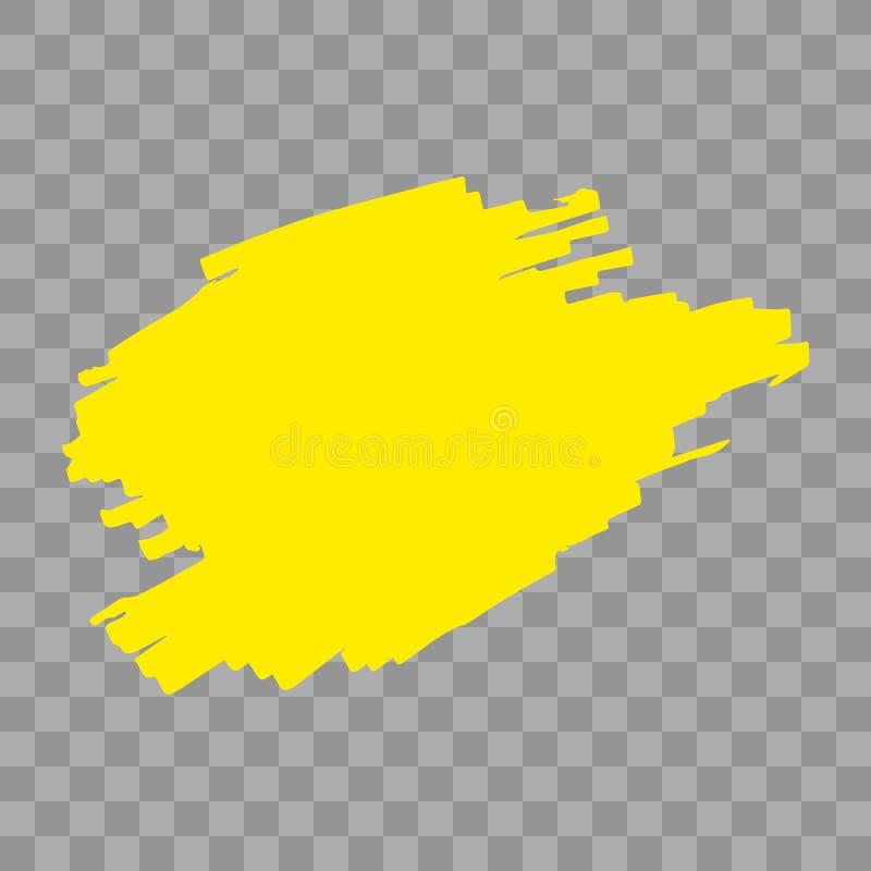 Κτυπήματα δεικτών Highlighter απεικόνιση αποθεμάτων