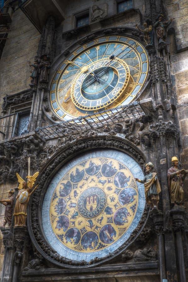 Κτύποι της Πράγας στοκ φωτογραφίες