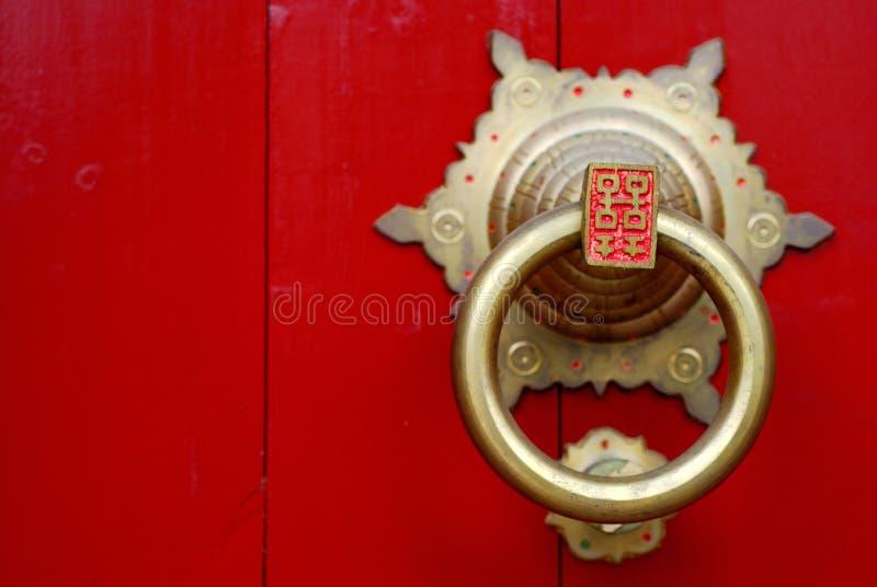 κτύπος πορτών στοκ εικόνες με δικαίωμα ελεύθερης χρήσης