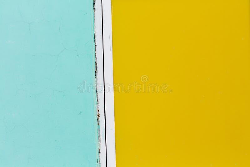 Κυανό και κίτρινο υπόβαθρο χρωμάτων στοκ εικόνες