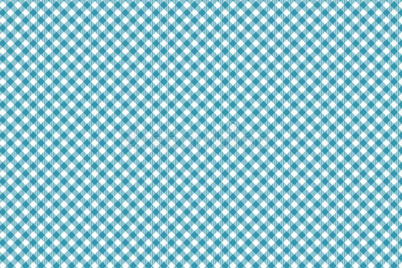 Κυανό μπλε διαγώνιο Gingham σχέδιο Σύσταση από το ρόμβο/τετράγωνα για - καρό, τραπεζομάντιλα, ενδύματα, πουκάμισα, φορέματα, έγγρ ελεύθερη απεικόνιση δικαιώματος