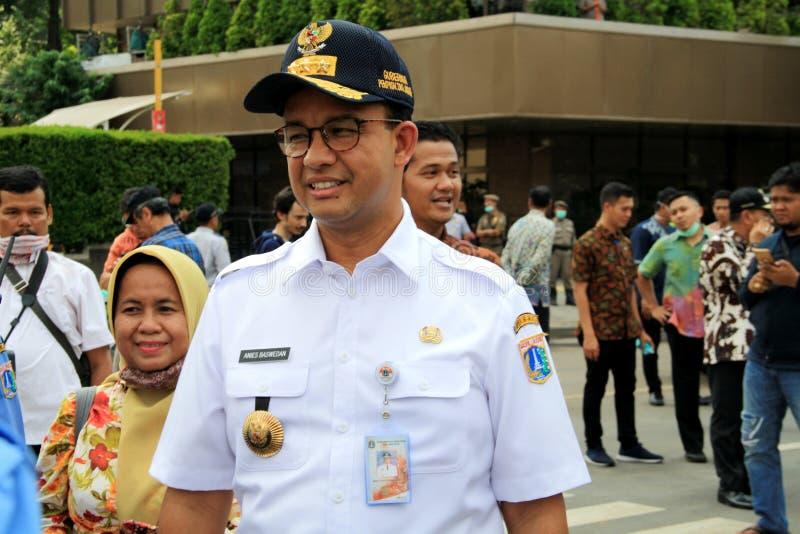 Κυβερνήτης της Τζακάρτα στοκ φωτογραφίες