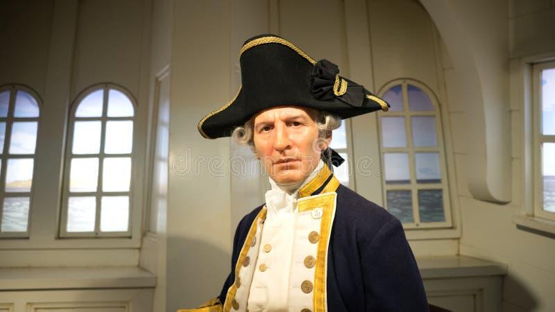 Κυβερνήτης James Cook στοκ φωτογραφίες με δικαίωμα ελεύθερης χρήσης