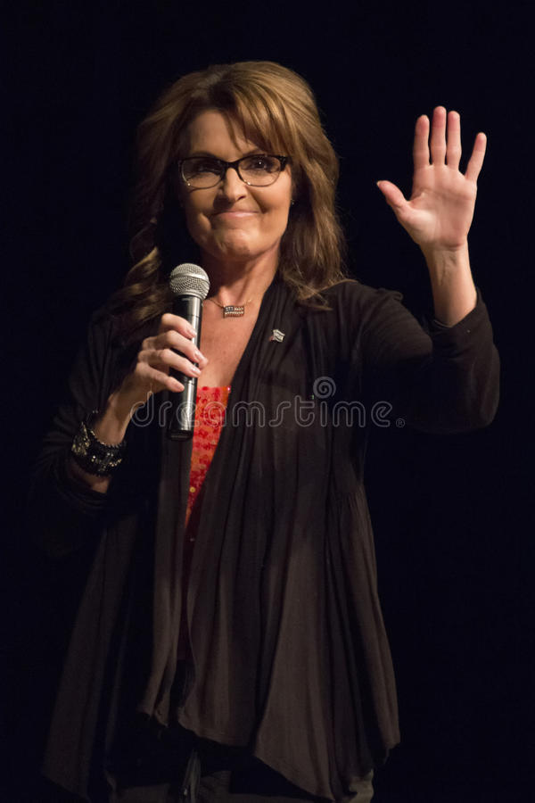 Κυβερνήτης Sarah Palin της Αλάσκας στοκ εικόνα με δικαίωμα ελεύθερης χρήσης