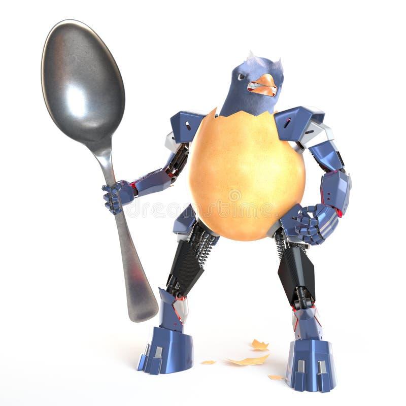 Κυβερνητικός μαχητής αυγών απεικόνιση αποθεμάτων