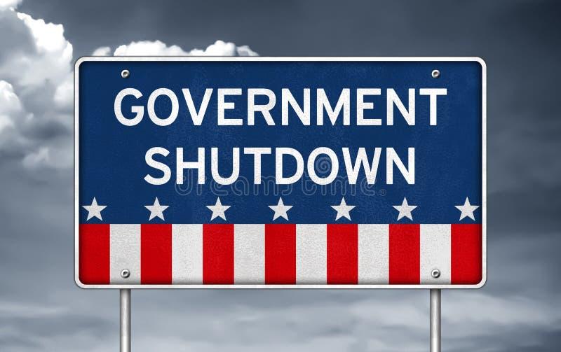 Κυβερνητικό κλείσιμο στοκ φωτογραφίες με δικαίωμα ελεύθερης χρήσης