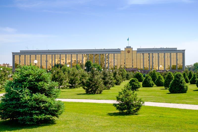 Κυβερνητικό κτήριο στην Τασκένδη στοκ φωτογραφία με δικαίωμα ελεύθερης χρήσης