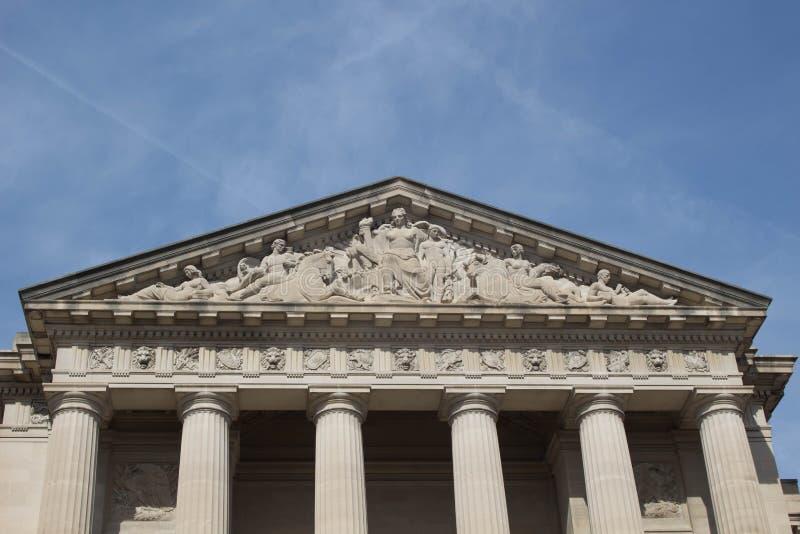 Κυβερνητικό κτήριο στοκ φωτογραφία