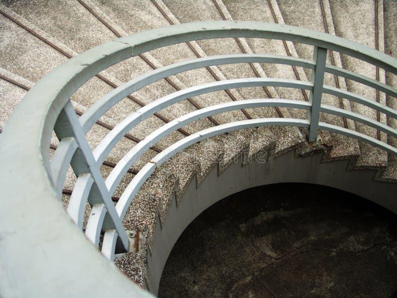 κυκλικά σκαλοπάτια στοκ φωτογραφίες