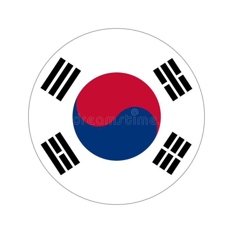 Κυκλική παγκόσμια σημαία απεικόνιση αποθεμάτων