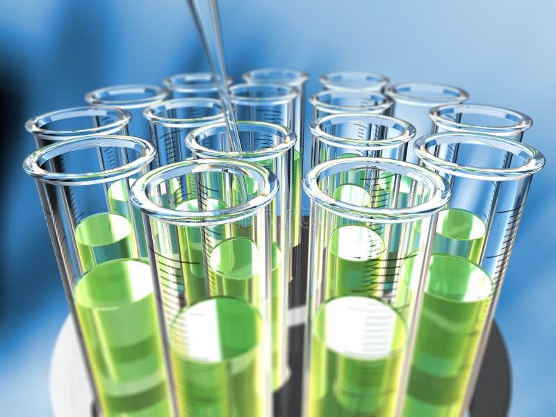 Download κυκλικοί σωλήνες δοκι& απεικόνιση αποθεμάτων. εικονογραφία από χημεία - 2230849