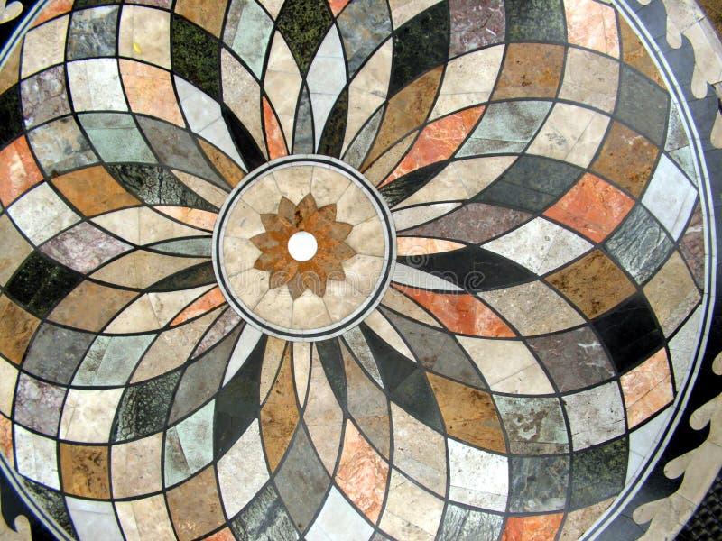κυκλικό διαμορφωμένο tabletop στοκ φωτογραφία με δικαίωμα ελεύθερης χρήσης