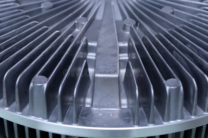 Κυκλικό θερμαντικό σώμα, εργαστήριο παραγωγής στοκ φωτογραφία