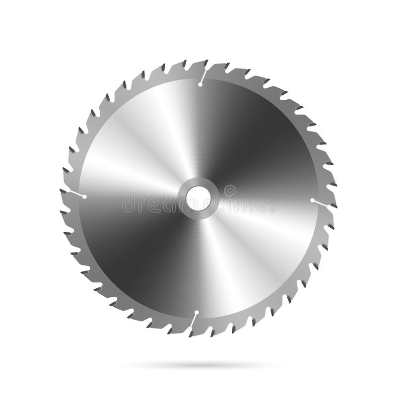 κυκλικό πριόνι λεπίδων απεικόνιση αποθεμάτων