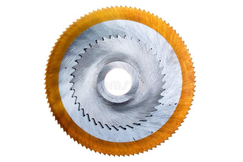 κυκλικό πριόνι λεπίδων στοκ εικόνα