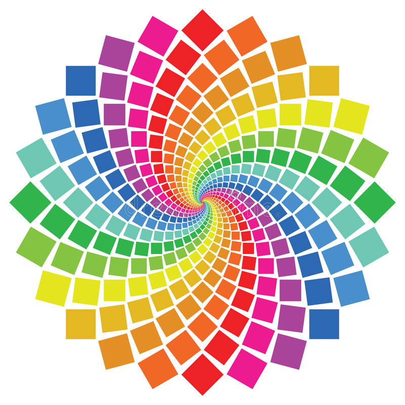 κυκλικό πρότυπο διανυσματική απεικόνιση