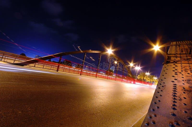 κυκλοφορία γεφυρών στοκ φωτογραφία