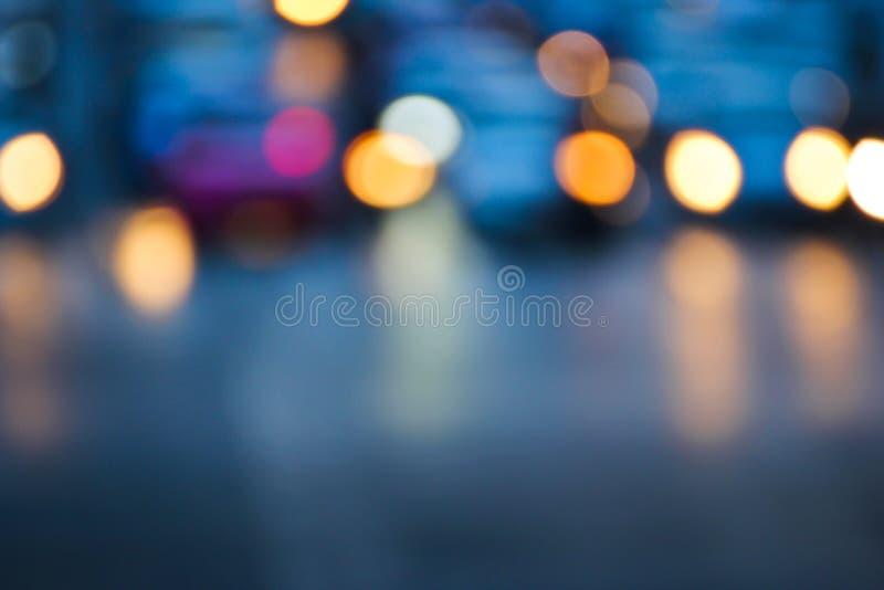 Κυκλοφορία νύχτας στοκ εικόνα