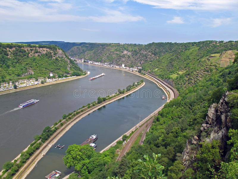 κυκλοφορία ποταμών στοκ εικόνα