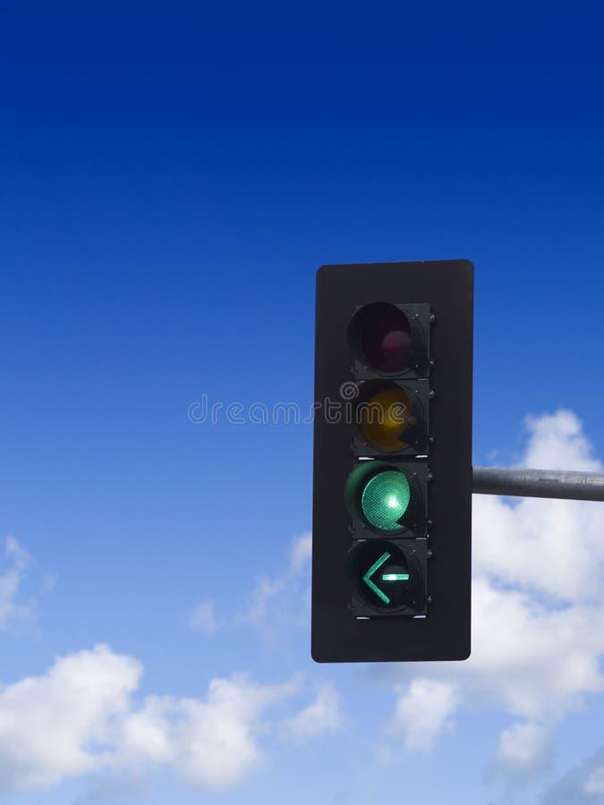 κυκλοφορία πράσινου φω&tau στοκ εικόνα