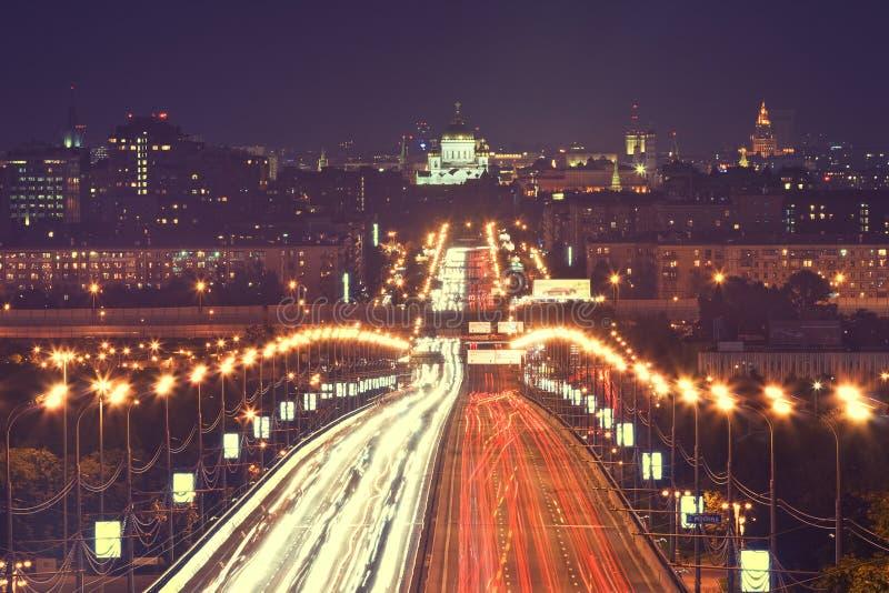 Κυκλοφορία της Μόσχας στοκ φωτογραφία