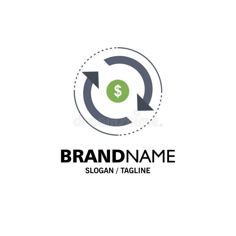 Κυκλοφορία, χρηματοδότηση, ροή, αγορά, επίπεδο διάνυσμα εικονιδίων χρώματος χρημάτων απεικόνιση αποθεμάτων