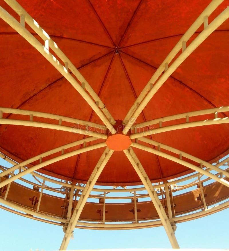 Κυκλική στέγη στοκ εικόνες με δικαίωμα ελεύθερης χρήσης