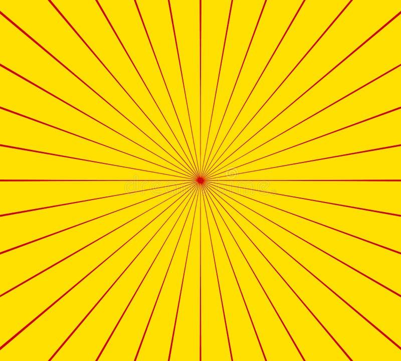 Κυκλικός ακτινωτός, ακτινοβολώντας το στοιχείο γραμμών Αφηρημένες ακτίνες, ακτίνες, ελεύθερη απεικόνιση δικαιώματος