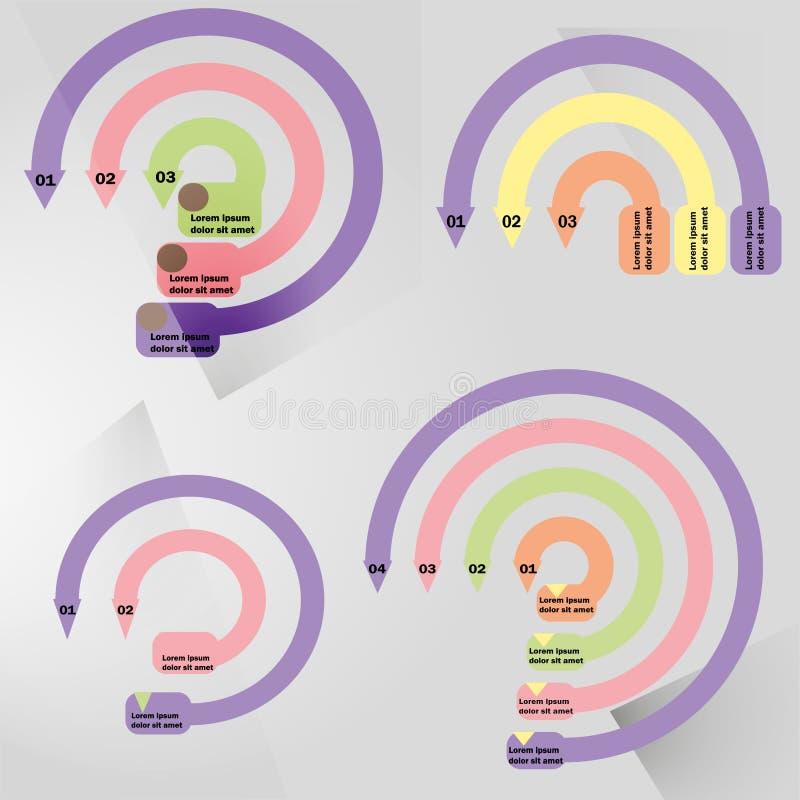 Κυκλικός infographic περιλήψεων με το κεντρικό στοιχείο Διάγραμμα, διάγραμμα, σχέδιο, γραφική παράσταση με 5, 6 βήματα, επιλογές, ελεύθερη απεικόνιση δικαιώματος