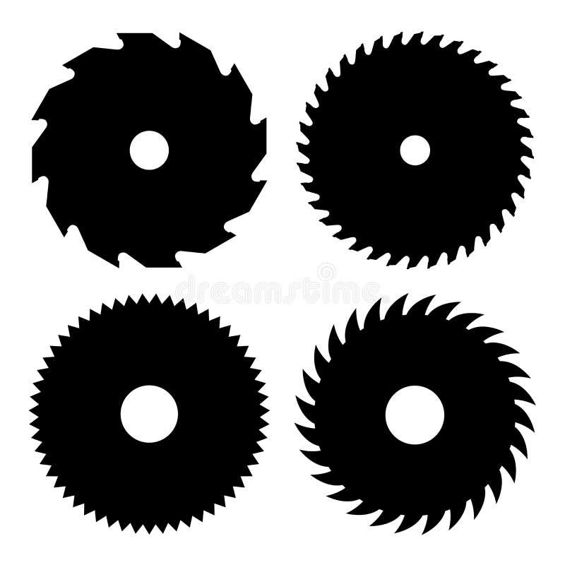 κυκλικό στενό πριόνι λεπίδων που αυξάνεται στοκ φωτογραφία με δικαίωμα ελεύθερης χρήσης