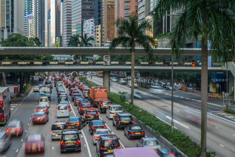 Download Κυκλοφορία οδών στο Χονγκ Κονγκ Εκδοτική Στοκ Εικόνες - εικόνα από έθνος, ασιατικοί: 62714933