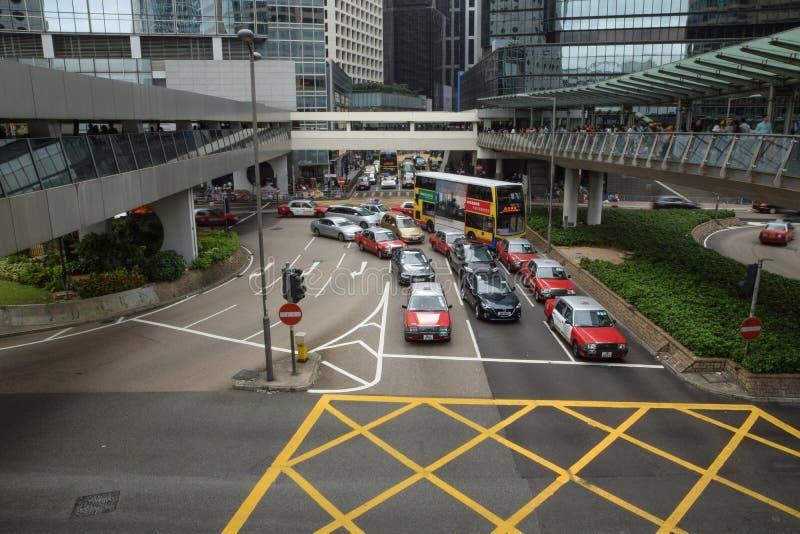 Download Κυκλοφορία οδών στο Χονγκ Κονγκ Εκδοτική Στοκ Εικόνα - εικόνα από συσσωρευμένος, αυτονομίας: 62715114