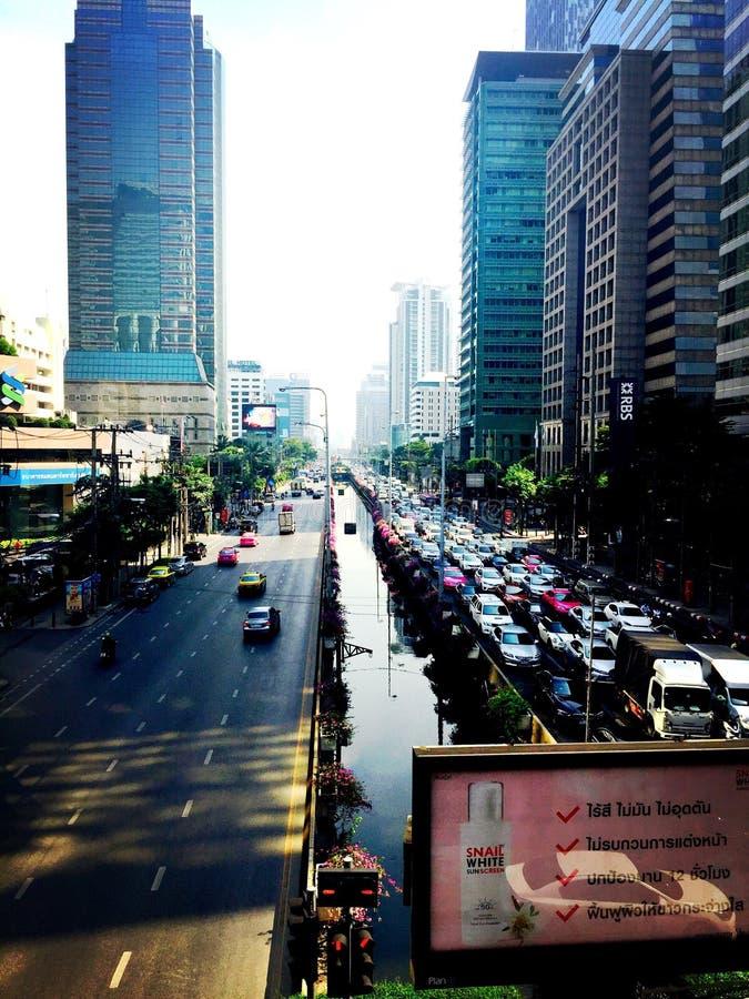 Κυκλοφορία της Μπανγκόκ στοκ φωτογραφίες με δικαίωμα ελεύθερης χρήσης