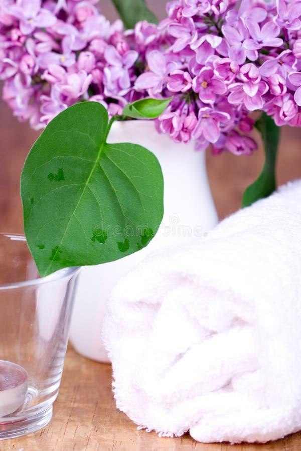 κυλημένη πασχαλιά πετσέτα & στοκ φωτογραφίες με δικαίωμα ελεύθερης χρήσης