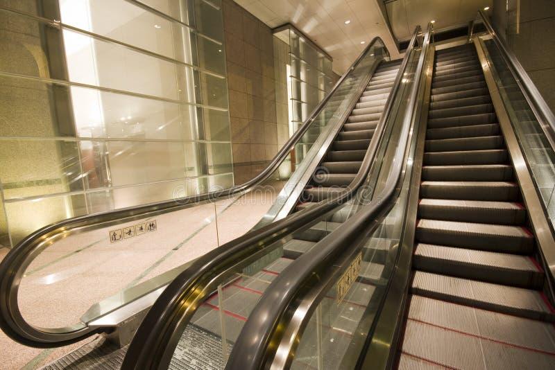 Κυλιόμενες σκάλες στοκ εικόνα με δικαίωμα ελεύθερης χρήσης