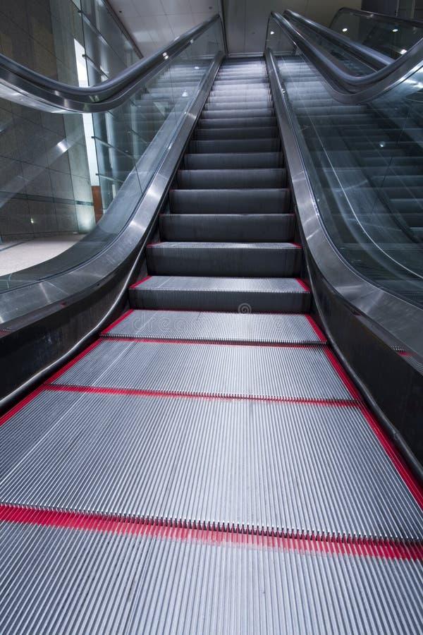 Κυλιόμενες σκάλες στοκ εικόνα