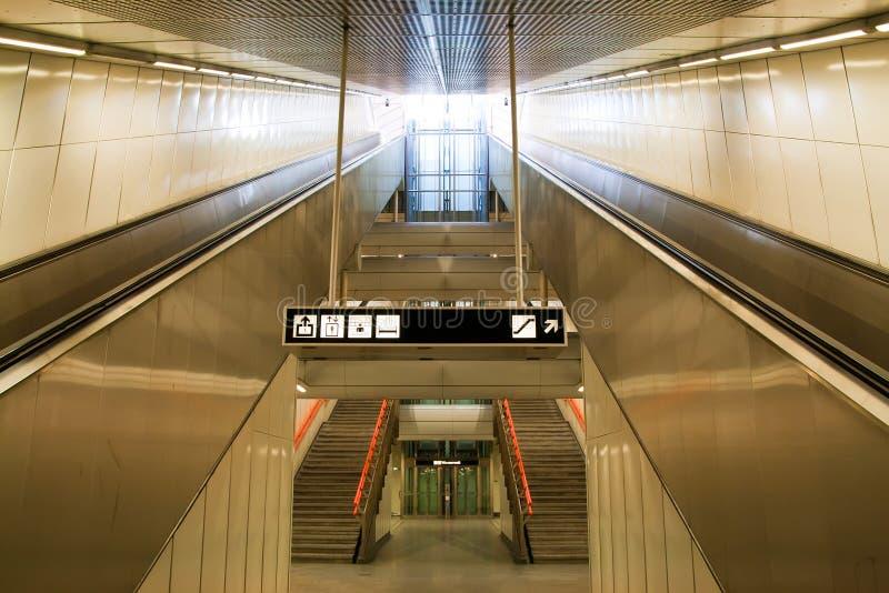 κυλιόμενη σκάλα στοκ εικόνες με δικαίωμα ελεύθερης χρήσης